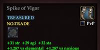 Spike of Vigor