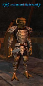 A talonlord bladehand