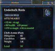 Underbulk Boots