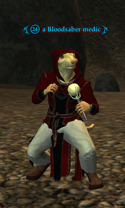 A Bloodsaber medic (Cove of Decay- A Treaty for Treasure) (ratonga)