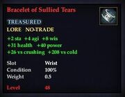 Bracelet of Sullied Tears