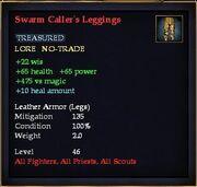 Swarm Caller's Leggings