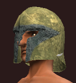 Orclord Brigandine Helm (Equipped)