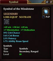 Symbol of the Mindstone