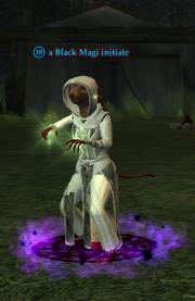 A Black Magi initiate