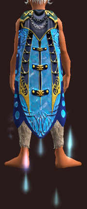 Cloak of Crystalline Waters (Scout Equipped)