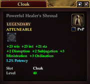 Powerful Healer's Shroud