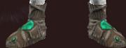 Vesspyr Warrior's Bronze Sabatons (Equipped)