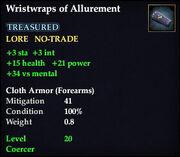 Wristwraps of Allurement