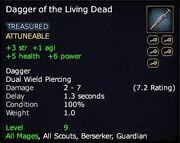 Dagger of the Living Dead