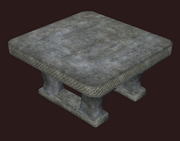 Hewn Stone Table