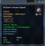 Ry'Gorr's Arcane Signet