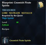 Blueprint- Gnomish Pirate Spirits