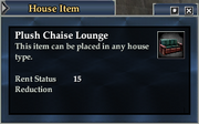 Plush Chaise Lounge