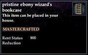 Ebony Wizard's Bookcase