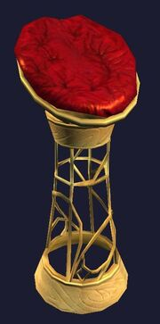 Towering Papasan Chair (Visible)