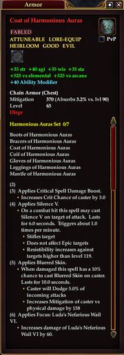 Coat of Harmonious Auras