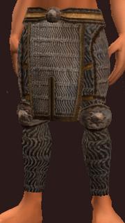 Imbued Iron Reverent Leggings (Equipped)
