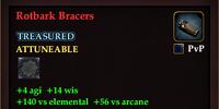 Rotbark Bracers