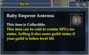 Ruby Emperor Antenna