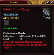 Scout's Chain Gloves