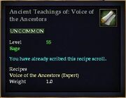 Ancient Teachings of- Voice of the Ancestors