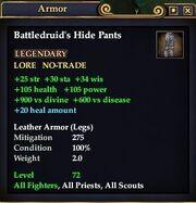 Battledruid's Hide Pants