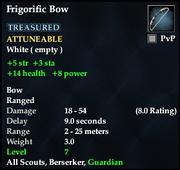Frigorific Bow