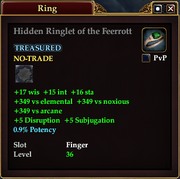 Hidden Ringlet of the Feerrott