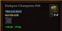 Darkpaw Champions Pelt