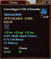 Gravedigger's Orb of Insanity