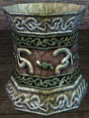 An elaborate Ca'Na pot (visible)