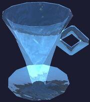 Teir'dal cup and saucer (Visible)