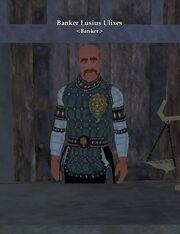 Banker Lusius Ulixes