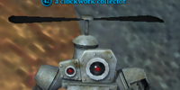 A clockwork collector