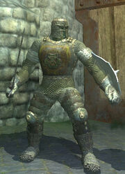 Carbonite Chainmail Armor, Equipped