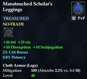 Manatouched Scholar's Leggings