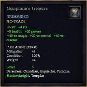 Gomphum's Treasure