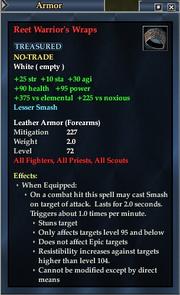 Reet Warrior's Wraps