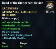 Band of the Stonebrunt Savior