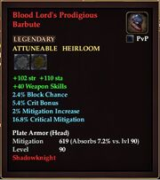 Blood Lord's Prodigious Barbute