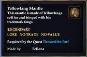 Yellowfang Mantle