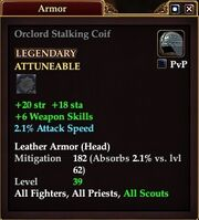 Orclord Stalking Coif