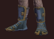 Cloth Boots of Greater Skyshrine (Equipped)