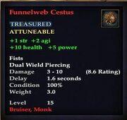Funnelweb Cestus