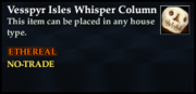 Vesspyr Isles Whisper Column