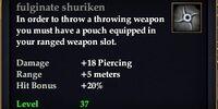 Fulginate shuriken
