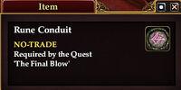 Rune Conduit