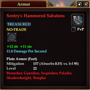 Sentry's Hammered Sabatons