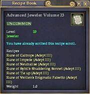 Advanced Jeweler Volume 23